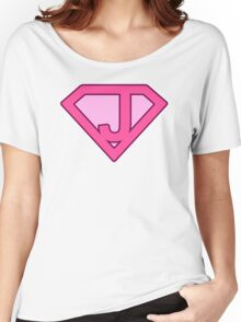 J letter Women's Relaxed Fit T-Shirt