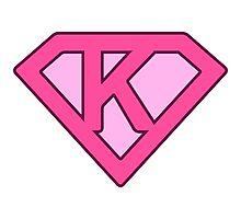 K letter Photographic Print
