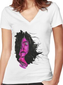 Clandestine Women's Fitted V-Neck T-Shirt