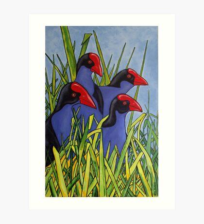 In the Long Grass Art Print