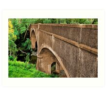 """Historic River Crossing"" Art Print"