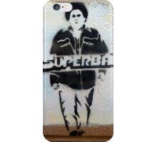 Superbad graffiti iPhone Case/Skin