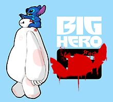 Big Hero Stitch by Juga-Arts