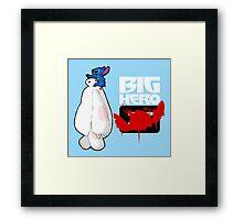 Big Hero Stitch Framed Print