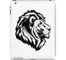 King of the Pride BLACK iPad Case/Skin
