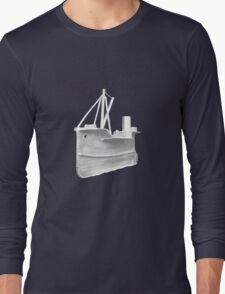 Knitted Boat Long Sleeve T-Shirt
