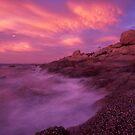 firey skies - tropical Nth Qld. by Tony Middleton