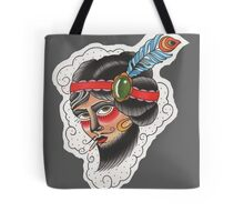 Bearded Lady (Totes, Pillow, Tees Version) Tote Bag