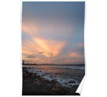 Burleigh Heads Sunset..... Poster