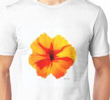 Yellow Hibiscus Unisex T-Shirt