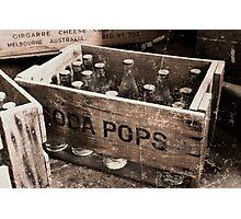 Soda Pop Photographic Print