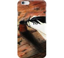Quill Pen iPhone Case/Skin