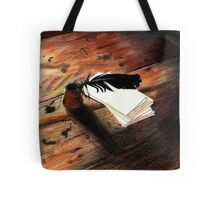 Quill Pen Tote Bag