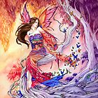 The Edge of Enchantment Kimono butterfly fairy by Meredith Dillman by meredithdillman
