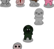 The Binding Of Isaac - The Seven Deadly Sins by Trick6