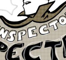 Inspector Spectre Sticker