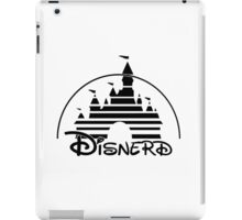 Disnerd - Black iPad Case/Skin