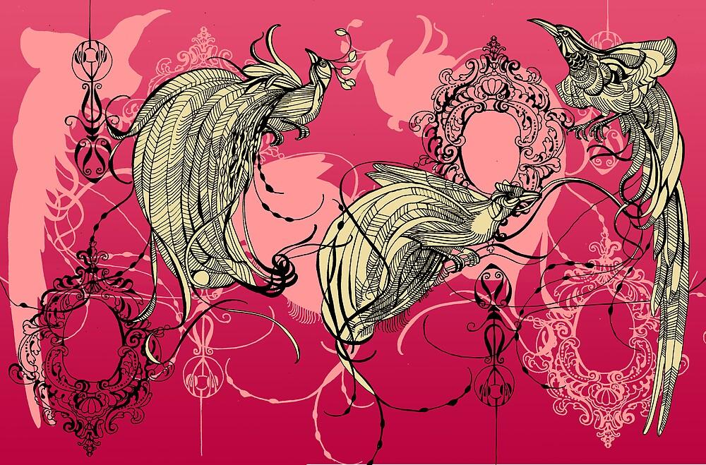 Decorative flock by imiklimikli