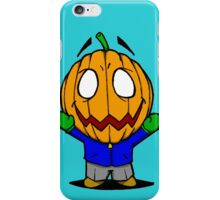 Halloweenies Pumpkin Jacko iPhone Case/Skin