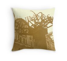 Sky Alphabet Throw Pillow