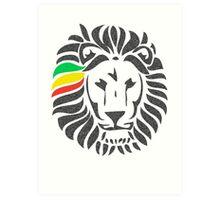 Lion Order LRG Art Print