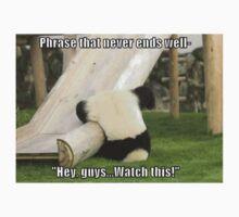 Panda Fail One Piece - Long Sleeve