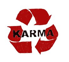 Karma Photographic Print