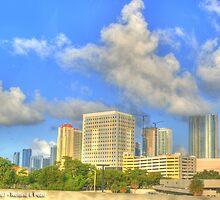 Downtown Miami - DSC_1554 by Roland Pozo