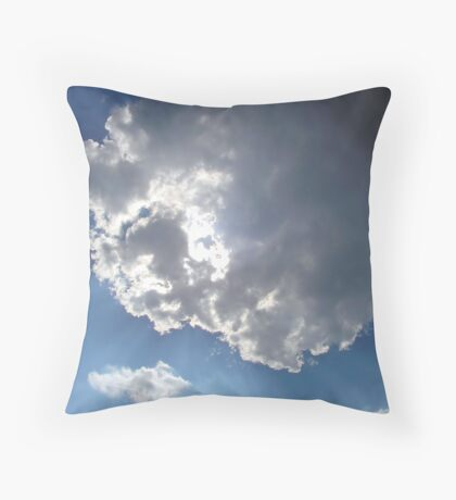 Sun rays Throw Pillow