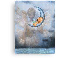 Sleep My Little One Canvas Print