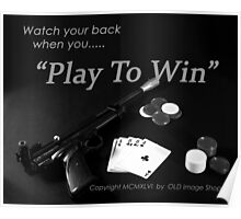 Play to Win Poster
