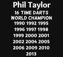Phil Taylor - 16 time darts world champion  Kids Clothes