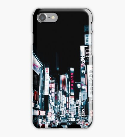 Kabukicho's Signs iPhone Case/Skin