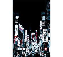 Kabukicho's Signs Photographic Print