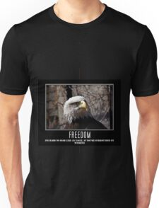 Hard to soar like an eagle Unisex T-Shirt