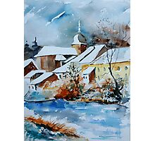 Watercolor chassepierre  Photographic Print