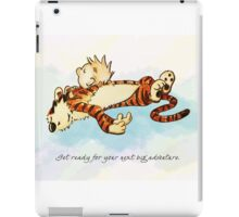 Calvin and Hobbes Resting iPad Case/Skin
