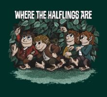 Where the Halflings Are | Unisex T-Shirt