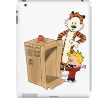 Calvin's new ride iPad Case/Skin