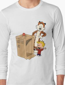 Calvin's new ride Long Sleeve T-Shirt