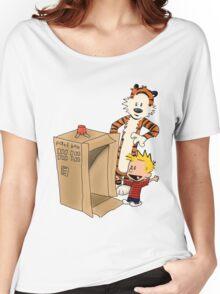 Calvin's new ride Women's Relaxed Fit T-Shirt