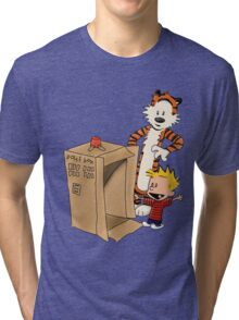 Calvin's new ride Tri-blend T-Shirt