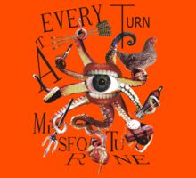 At Every Turn Misfortune Kids Tee