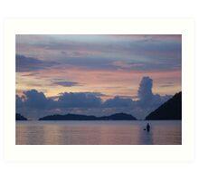 Tranquil Sea Art Print