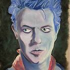 Bowie as Screamin' Lord Byron by Rik Kent
