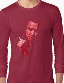Bill Hicks (red) Long Sleeve T-Shirt