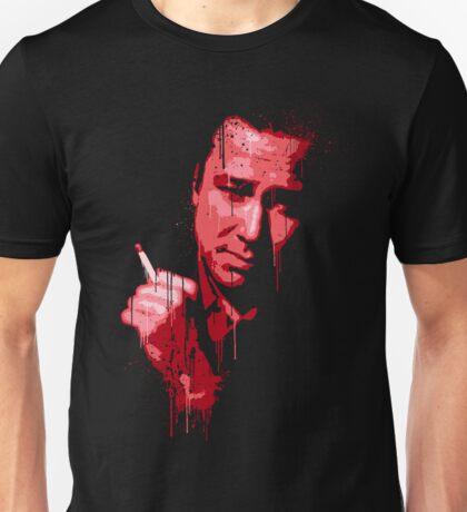 Bill Hicks (red) Unisex T-Shirt