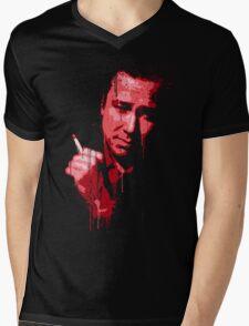 Bill Hicks (red) Mens V-Neck T-Shirt