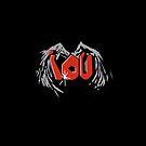 Sherlocked IOU Graffiti Black by Mark Walker