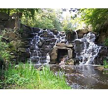 Virginia Water Water Fall Photographic Print